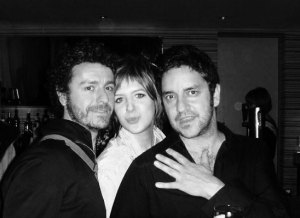 Johnny, Anna and Ian