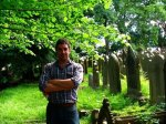 Ian in the graveyard