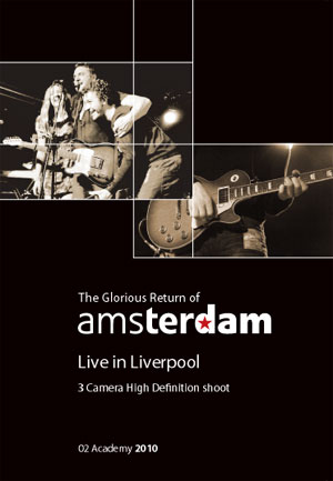 The Glorious return of Amsterdam DVD