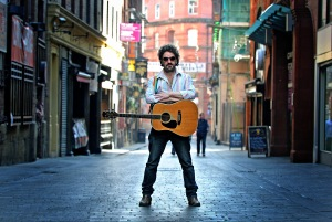 Photo by Gavin Trafford Musician Ian Prowse launching a new album The best of Ian Prowse to mark his 21 year career. Ian in Mathew Street.