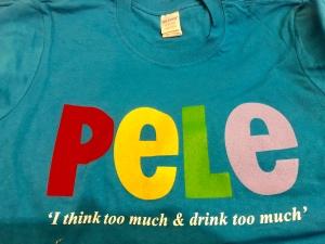 Pele sapphire t-shirt